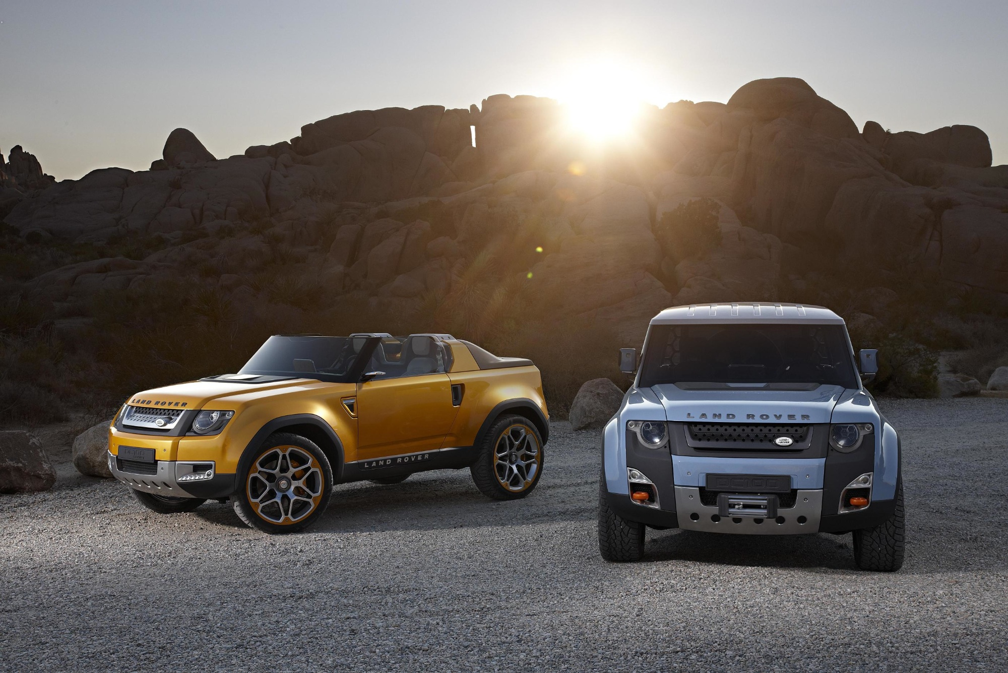 Land Rover DC100 and DC100 Sport Ready for Los Angeles autoevolution