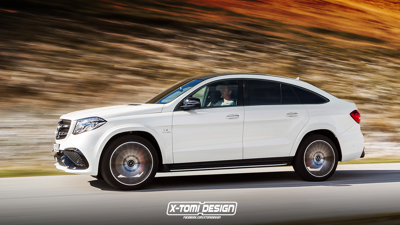 Mercedes AMG GLS63 Coupe 4MATIC Imagined Because The Skys
