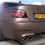 Mosselman Exhaust Sounds Vicious On E60 M5 Autoevolution