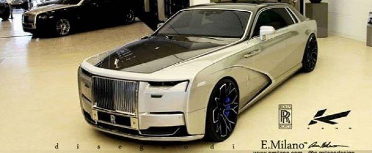 New 2021 Rolls Royce Ghost Rendered With Tuner Look Kahn