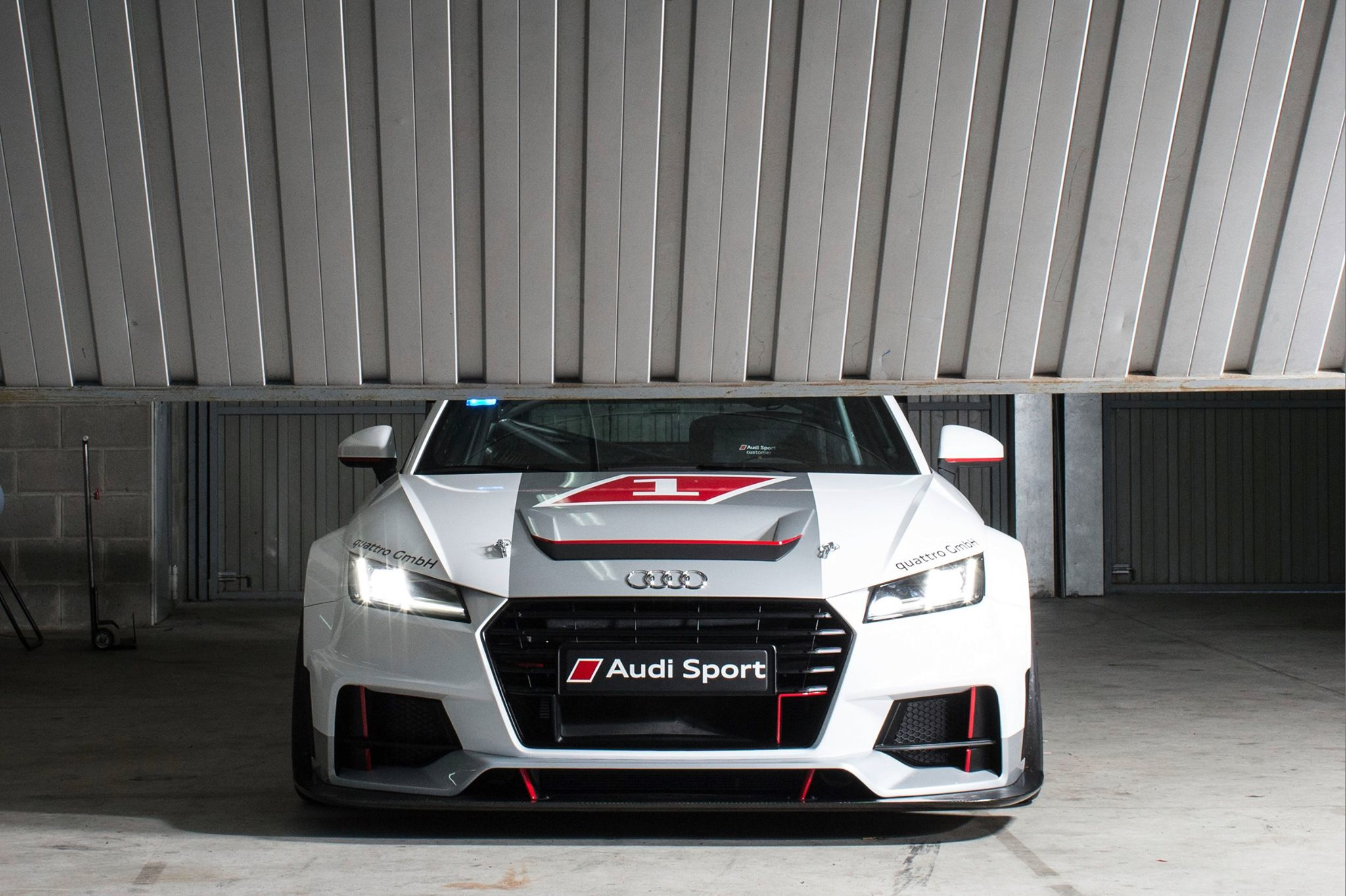 New Audi Sport TT Cup Racer Cuts Grass Roots With Carbon