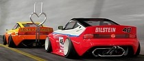 Nissan 400Z Concept Gets Bosozoku Makeover, Heart-Shaped Exhaust Is Crazy