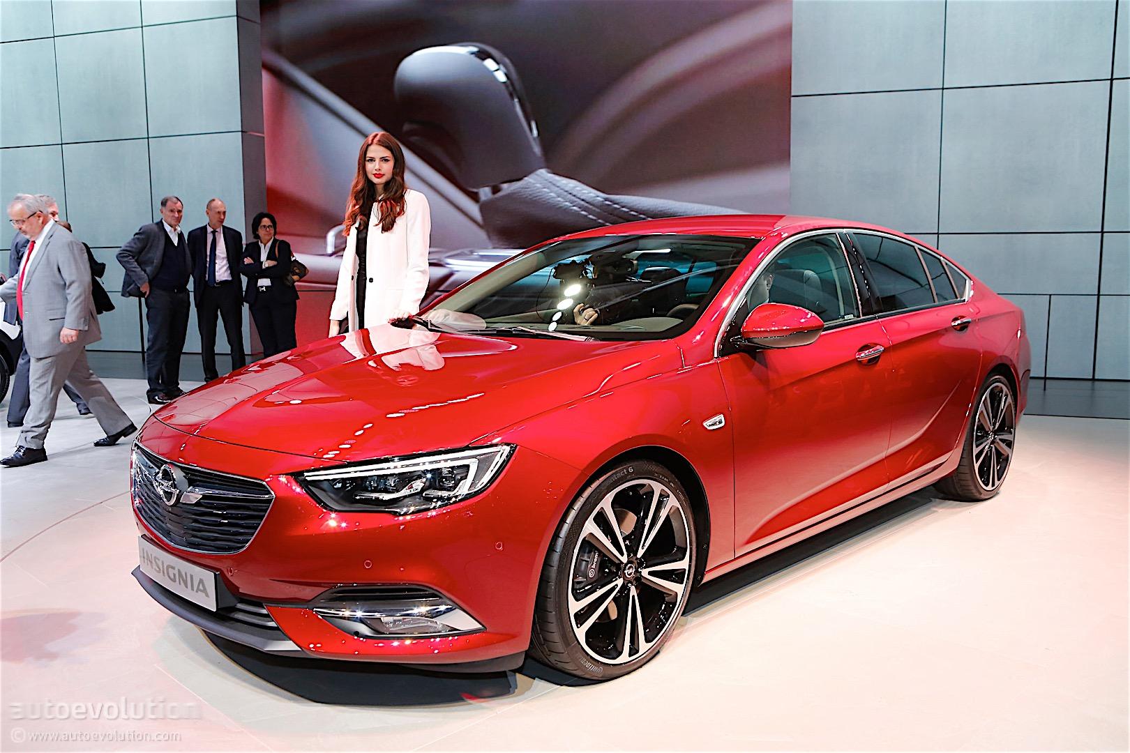 Second Generation Opel Insignia Showcased In Geneva Its