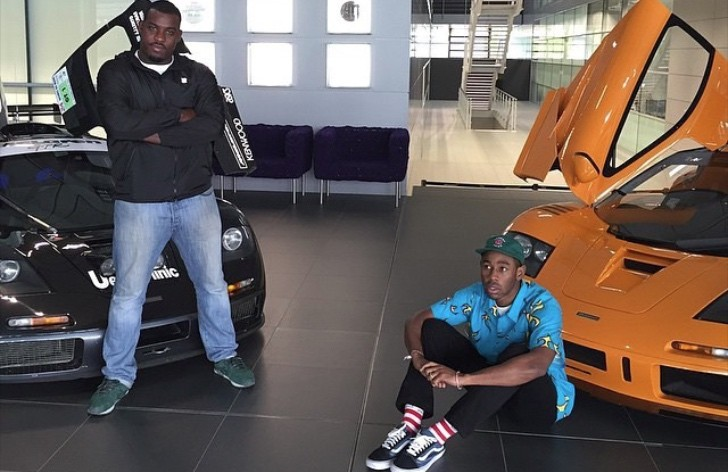 Rapper And Producer Tyler The Creator Visits Mclaren Hq