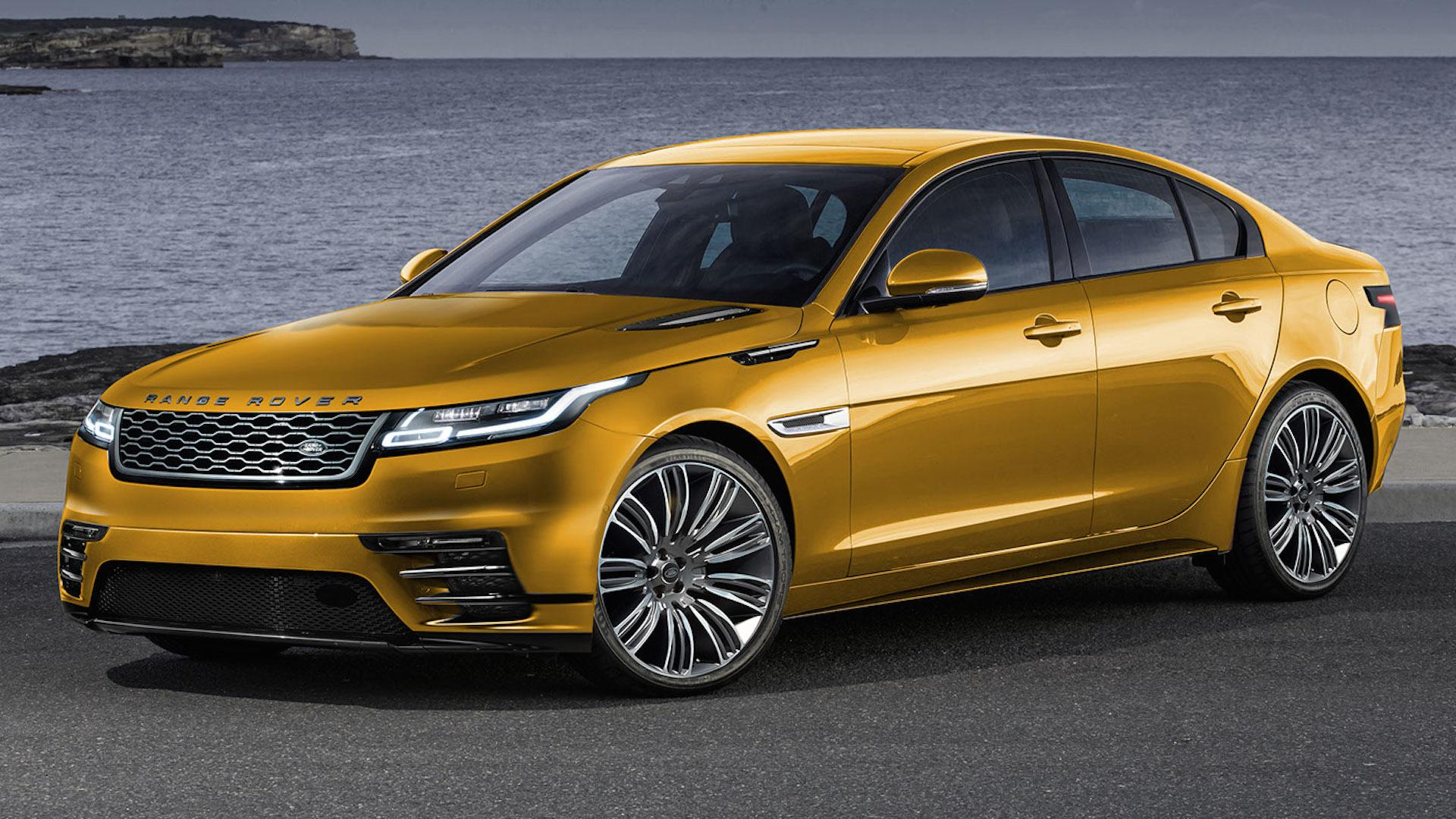 Road Rover Velar Rendering Shows There s Potential for a Range