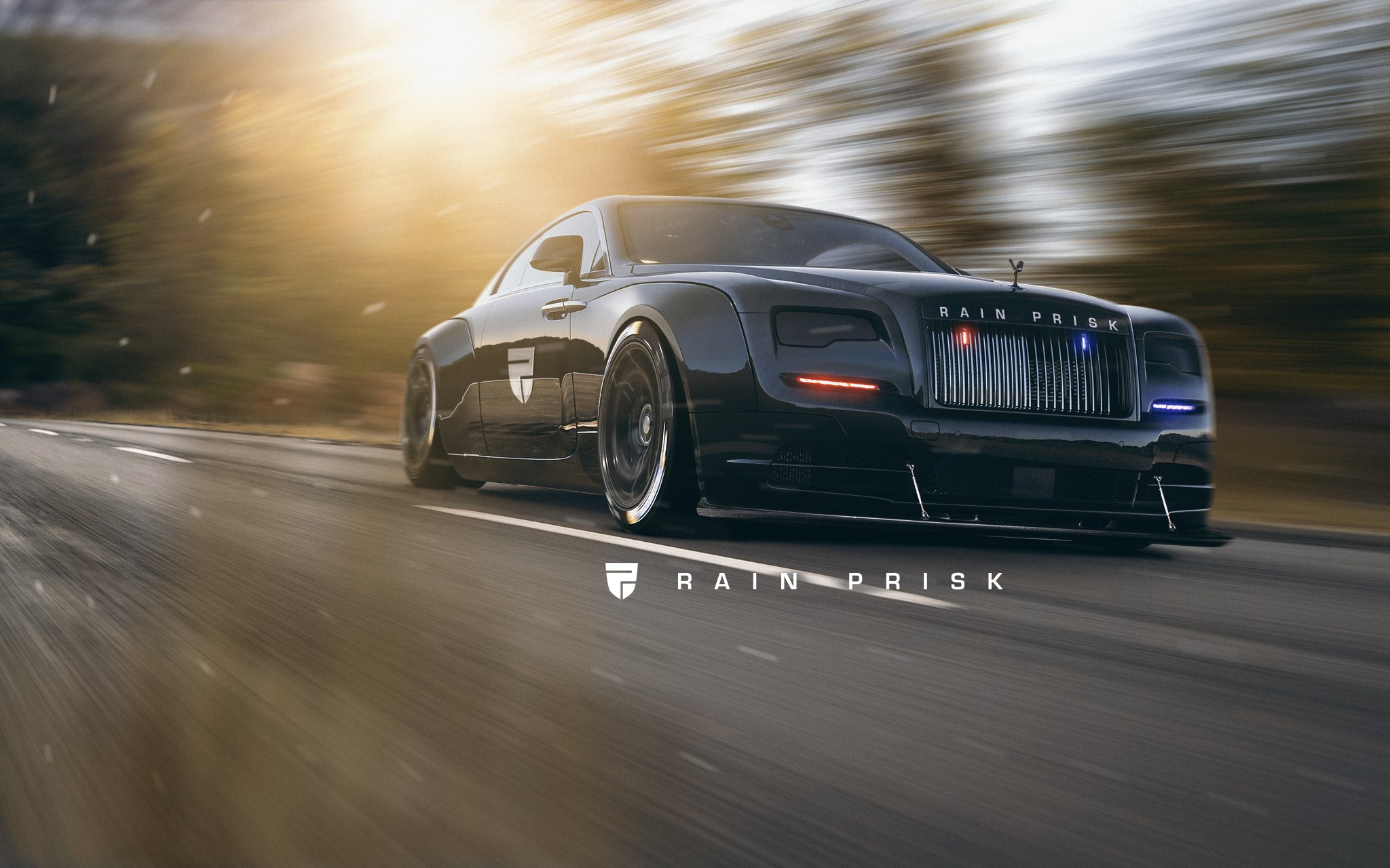 Rolls Royce Wraith Police Car Rendered As The Lavish Arm