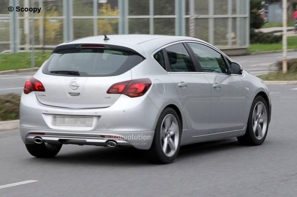 Spyshots: 2011 Opel Astra GSI - autoevolution