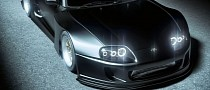 """Toyota Supra """"Big Black"""" Is the Widebody Daddy"""