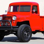 Viper Red 1960 Willys Jeep Pickup Is How The Gladiator Should Have Looked Like Autoevolution