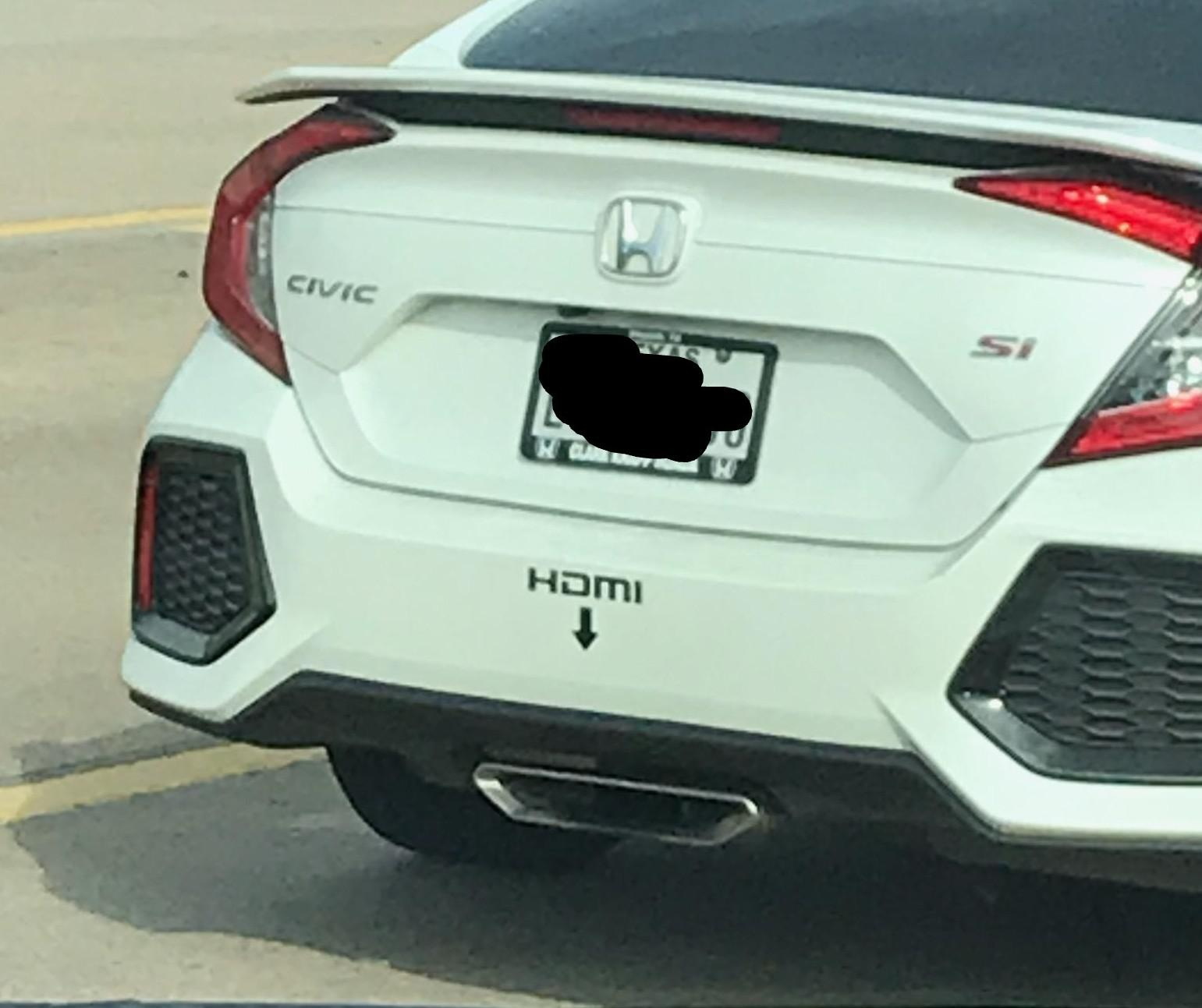 viral honda civic si looks geeky with