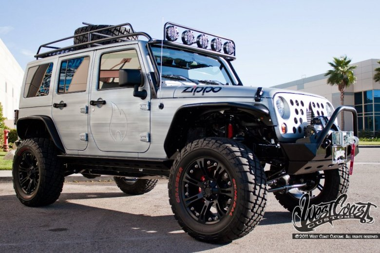 West Coast Customs Reveals Zippo Jeep at Watkings Glen International - autoevolution