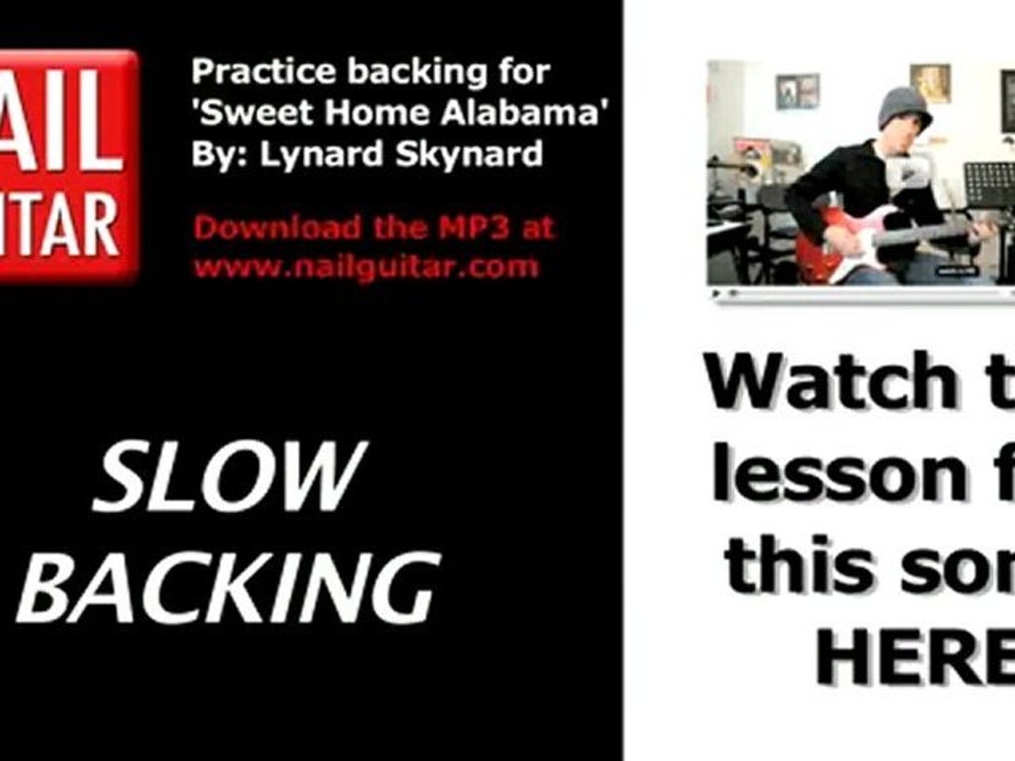Feb 27, 2016· in this video, we show you the opening riff to sweet home alabama by lynyrd skynyrd! Sweet Home Alabama By Lynard Skynard Play Along Backing Video Dailymotion