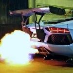 Lamborghini Aventador Lp720 4 Insane Flames And Exhaust Sound Dailymotion Video