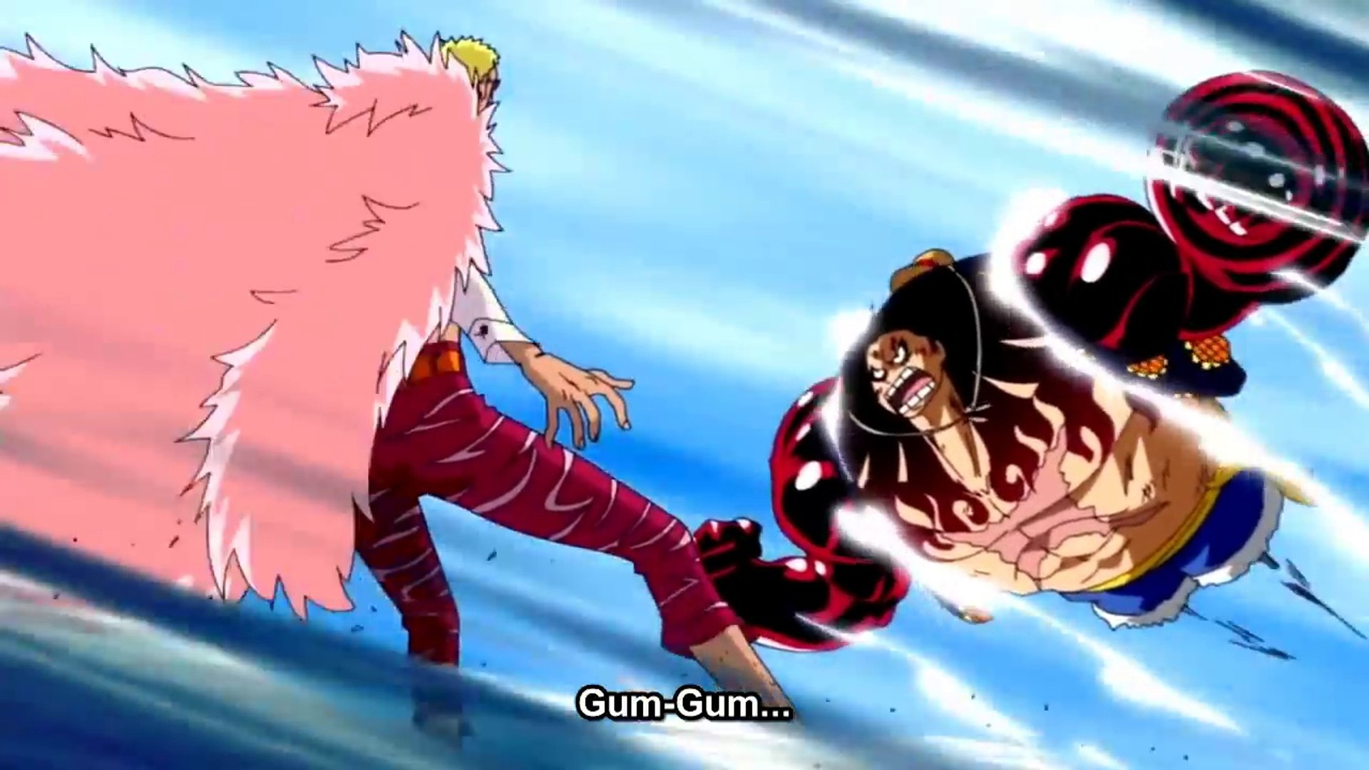 Play as fourth gear luffy! Gear Fourth Luffy Vs Doflamingo Full Fight Hd Luffy Gear 4th Boundman Video Dailymotion