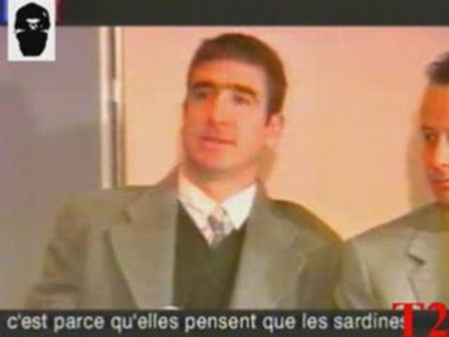 Okay… so the seagulls are the press, right? Eric Cantona When The Seagulls Follow The Trawler Video Dailymotion