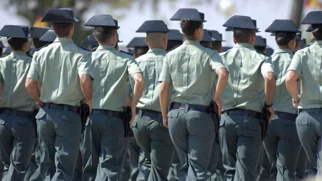 Agentes de la Guardia Civil.