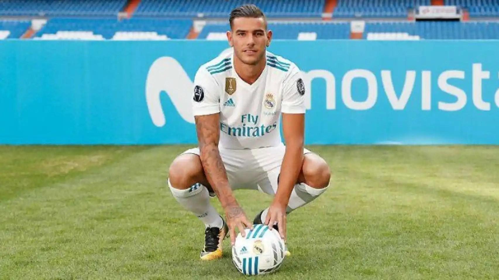 Theo hanya bermain 13 kali di la liga. El gesto de Theo Hernández con el escudo del Real Madrid ...