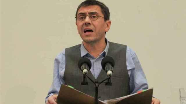 El fundador de Podemos Juan Carlos Monedero.