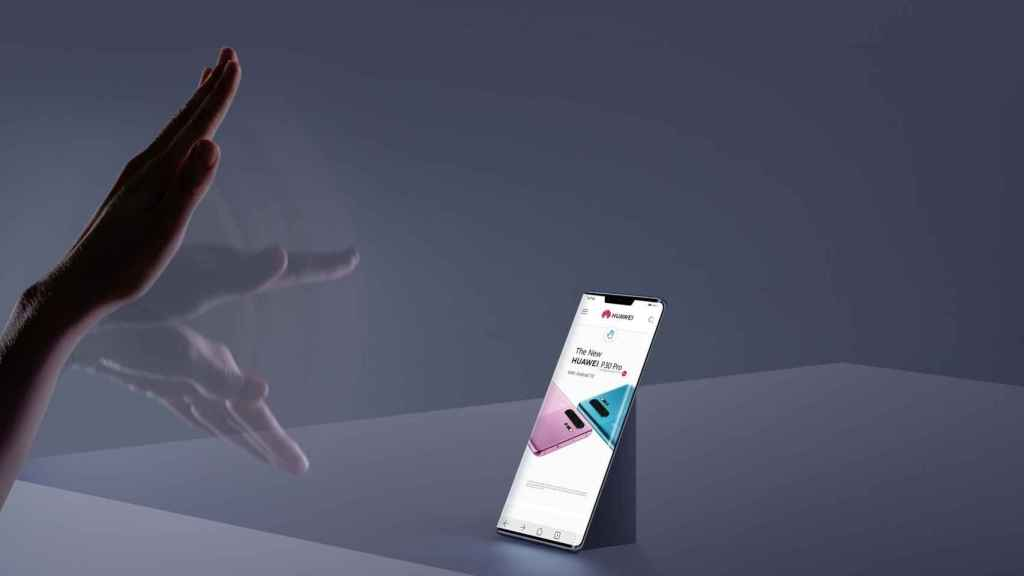 Huawei incluye gestos en el aire en sus dispositivos