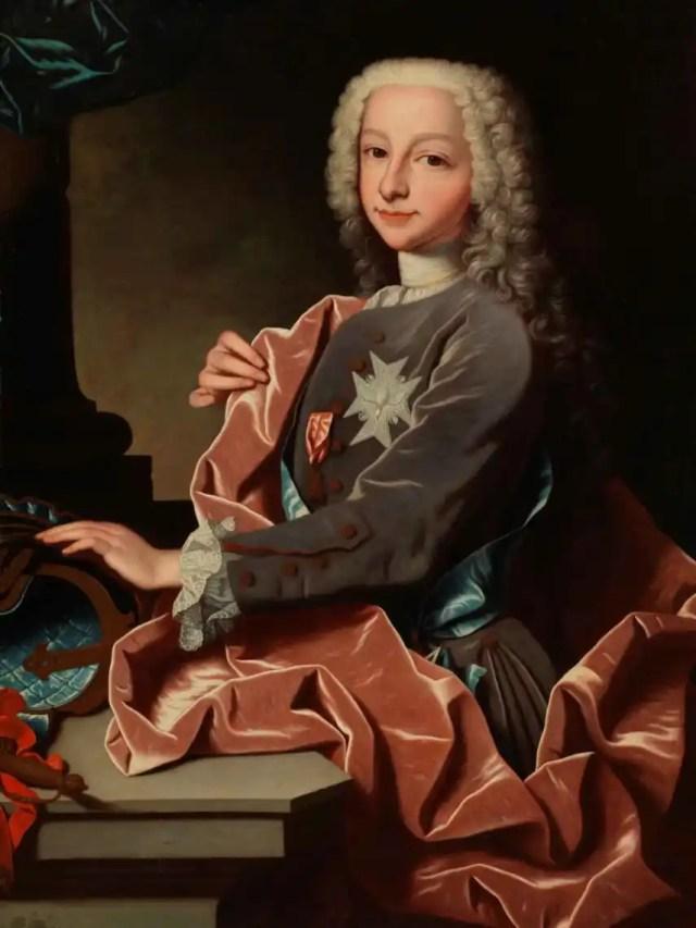 Carlos III de joven, por Jean Ranc.