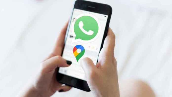 WhatsApp on mobile.