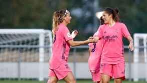 El Real Madrid Femenino suma su primera victoria en Liga con un partidazo  ante el Rayo