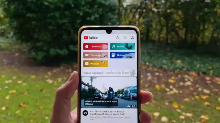 YouTube para Android te dejará reproducir vídeos en la pantalla de inicio