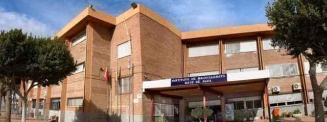 Instalaciones del instituto Ruiz de Alda en San Javier.