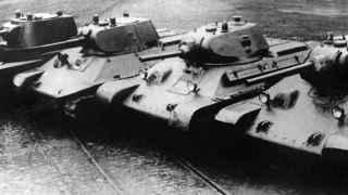Tanques soviéticos T-34