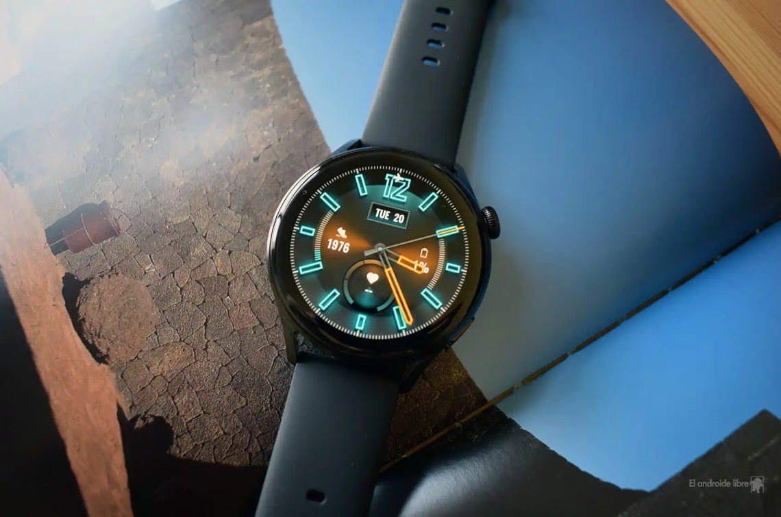 Huawei Watch 3 con Harmony OS2