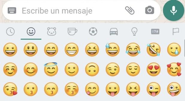 Emojis en WhatsApp