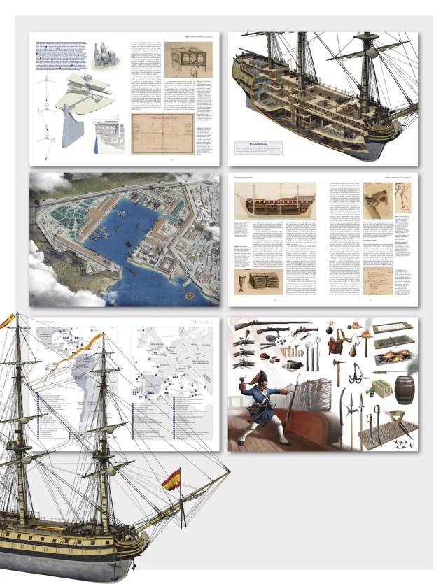 Detalle de algunas páginas de la obra.