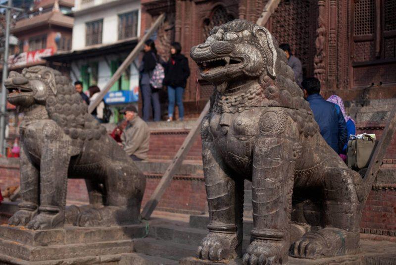Катманду, столица Непала, площадь Дурбар