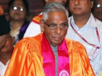 Narayanan demits office, leaves for Chennai