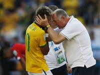 World Cup: Make the final for Neymar, coach Scolari urges Brazil