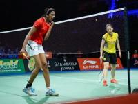 PV Sindhu stuns No. 2 seed Wang; makes history at world championships