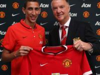Manchester United: Di Maria red card adds to van Gaal's woes