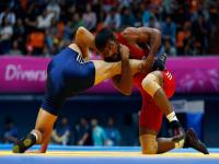 Asian Games Photos: Golden boy Yogeshwar Dutt does it again