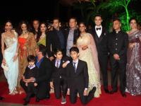 SRK, Dilip Kumar and other B-towners attend Arpita's wedding reception