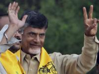Andhra CM visits Telangana for the first time since formation of new state