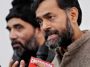 Bhushan made no reference to referendum on forces: Yogendra Yadav