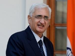Khurshid booked for violating poll code by allegedly giving freebies