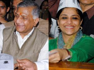 Ghaziabad: In a battle of outsiders, Congress lags