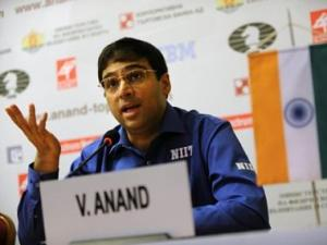 Anand draws with Andreikin in round five of Chess Candidates