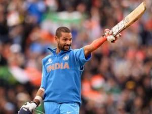 Shikhar Dhawan one of Wisden's Five Cricketers of the Year