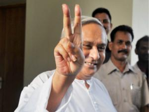 Odisha CM Naveen Patnaik stakes claim to form government
