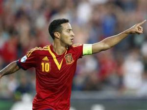Spain's Thiago out of World Cup with knee injury