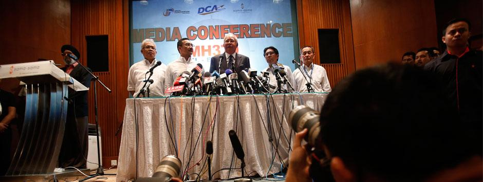 Live: 'Flight MH370 ended in the southern Indian Ocean'