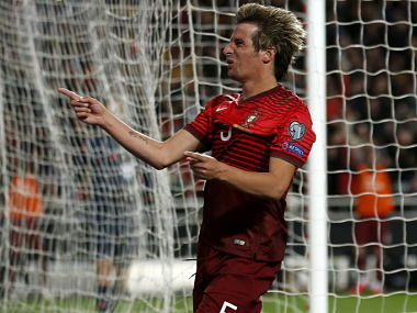 File photo of Fabio Coentrao. REUTERS