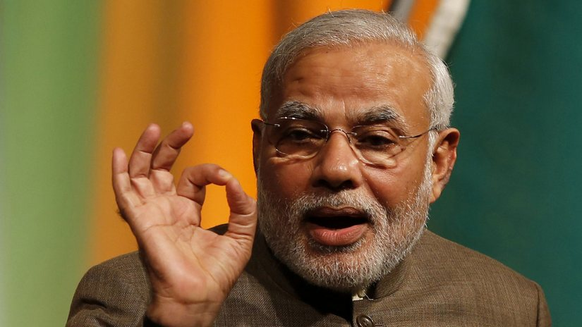 Narendra Modi is the first prime minister from the Right-wing to enjoy a parliamentary majority. Reuters